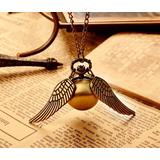 Harry Potter Snitch Collar Bronce O Dorado Leer Descripción