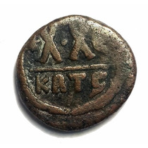 Ch C / Bizancio - Focas 602-610dc 1/2 Follis De Cartago