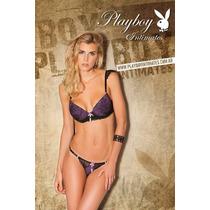 Playboy Intimates Lencería, Conjunto Luxury, Lanzamiento