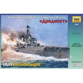 Barco Zvezda P/armar Hms Dreadnought 1/350 Kit 9039