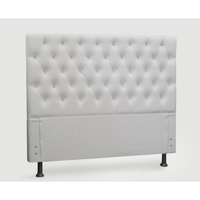 Cabeceira Versalite Cr P/cama Box Casal 138 Cm Larg. Branca