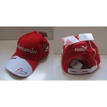Boné Ferrari Santander Fórmula 1 100% Oficial Puma - Oakley