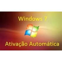 Cd De Instalação Windowss 7 Completo - Ativação Original.