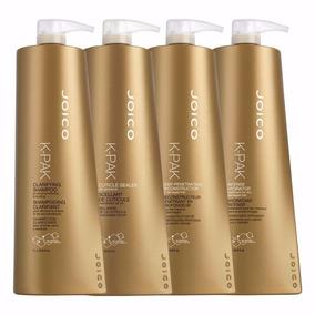Kit Joico K-pak Reconstrutor Hair Repair 4 Passo 1 Litro Cda