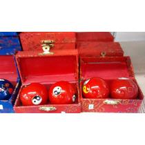 Esferas Terapeuticas Bolas De Saude Massagem Bolas Chinesas