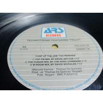 Technotronic Pump Up The Jam Remixes 12 Single Imp Flash