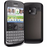 Nokia E5-00 3g Wifi Whatsapp Facebook Bluetooth+cartão 8gb