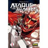 Manga Ataque A Los Titanes (shingeki No Kyojin) 23 Tomos
