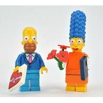 Lego Simpsons Series 2 Homero Y Marge Nuevos!!!