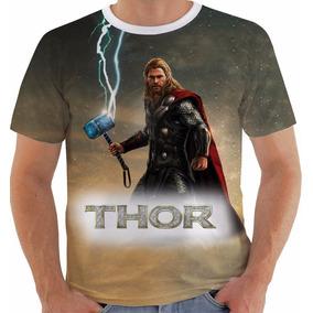 Camiseta Thor 2 Super Heroi Vingadores Avengers Marvel