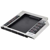 Adaptador Para Segundo Hd Ssd 2.5 Sata 9.5mm Caddy Macbook