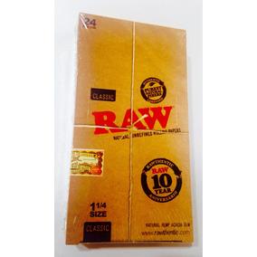 Papeles Raw Para Armar X24 Libritos // 1 1/4 Natural Hemp