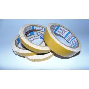 Fita Banana Adesiva Dupla Face Espuma 19mm X 5,5m - 10 Unds