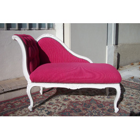 Chaise longue luis xv en mercado libre argentina for Divan frances