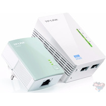 Tl-wpa4220 Kit Starter 300mbps Av500 Wifi Powerline Extender