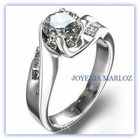 Anillo De Compromiso Argentium Sterling Silver Marloz
