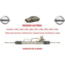 Caja Direccion Hidraulica Cremallera Nissan Altima 2000