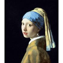 Lienzo Tela La Joven De La Perla Jan Vermeer 1666 40 X 34 Cm