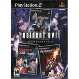 Resident Evil The Essentials Playstation 2 Nuevo
