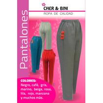 Pantalón De Vestir Con Resorte Completo En Cintura Mujer