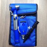 Equipo Órganos De Los Sentidos Otoscopio Oftalmoscopio Azul