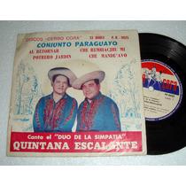 Duo De La Simpatia Quintana Escalante Simple