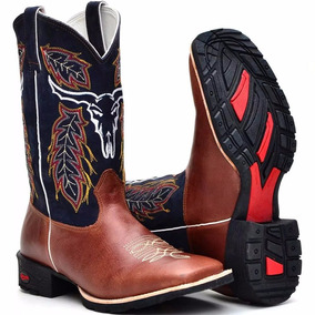 Bota Country Equitação Hipismo Cavaleiro Cowboy Comitiva
