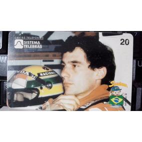 Cartão Telefonico Ayrton Sena Gp Portugual 1989