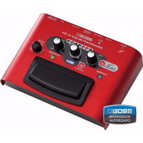 Pedal Boss Ve 2 Vocal Ve2 Voz E Harmonist + Fonte