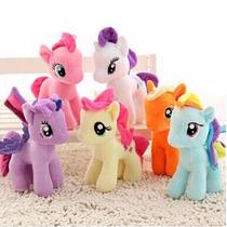 Pelúcia Kit 6 X Little Poney My Little Pony Poney Pôney