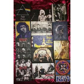 Cuadros Decorativos U2, Kiss, Pink Floyd, Led Zeppelin, Etc