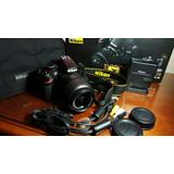 Nikon D3200 Seminueva