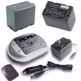 Cargador Mas Bateria Cgr-d320 Para Panasonic Md10000 Md9000