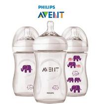 Mamadeira Anti-cólicas Philips Avent Pétala Elefantes 628