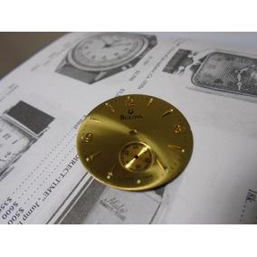 Mostrador Relógio Bulova Antigo Coleção