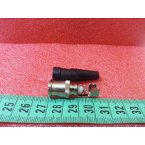 Conector Tipo F Con Goma Ideal Para Tv Por Cable O Satelital