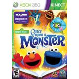 Plaza Sesamo Once Upon A Monster Xbox 360 Original Sellado
