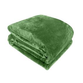 Cobertor Sultan Microfibra Queen - Verde