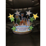 Centro Para Torta Adorno Mickey,baby Tv,todos Los Personaj