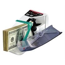 Contadora De Billetes Portatil Máquina Cuenta Dinero + Funda