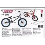 Bike Eastern Bmx Shovelhead Aro 20 - Vermelho Fosco