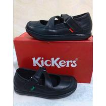 Zapatos Kickers Originales Colegial Niñas
