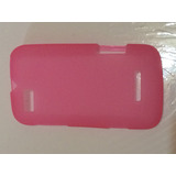 Capinha Rosa Para Motorola Defy Mini/xt320 Melhor Preço