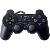 Controle Original Playstation2 +1 Jogo De Brinde
