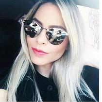 Óculos Fendi Inspired Espelhado Compre 1 E Receba 2 Unidade