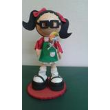 Boneca Fofucha Chiquinha Em Eva 3d