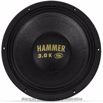 Alto Falante 12 Eros E-12 Hammer 3.0k 1500w Rms 4 Ohms Woofe