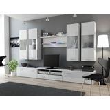 Mueble Lcd-mesa Tv-vajillero Modular Led - Rack Moderno T