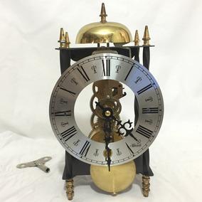 Hermoso Raro Reloj Skeleton Franz Hermle Oiginal 100% Alemán