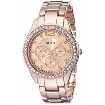 Reloj Analógico Mujer Xo5477 - Oro Rosa